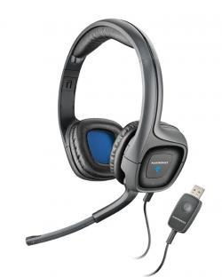 Plantronics Audio 655 Wired Headset (Black)