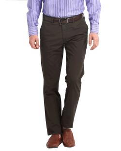 Yepvi Brown Trouser For Men