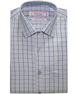 Republic Grey Checked Shirt