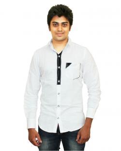 Yepvi White Formal Shirt