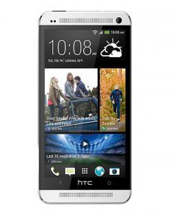 HTC One 802d Dual SIM Mobile Phone(Silver)