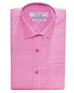 Republic Pink & White Striped Shirt